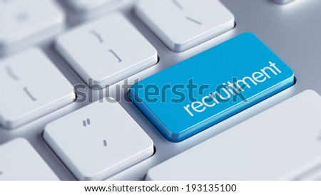 High Resolution Recruitment Concept - stock photo
