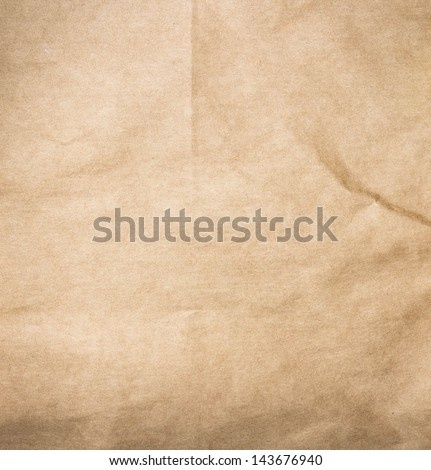 High resolution recycled brown cardstock with halftone - stock photo