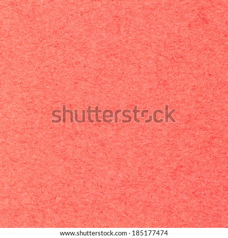 High resolution red recycled paper texture as background - stock photo