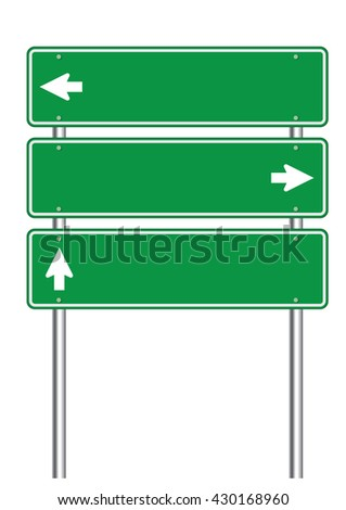 high resolution road sign clipart art stock illustration 430168960