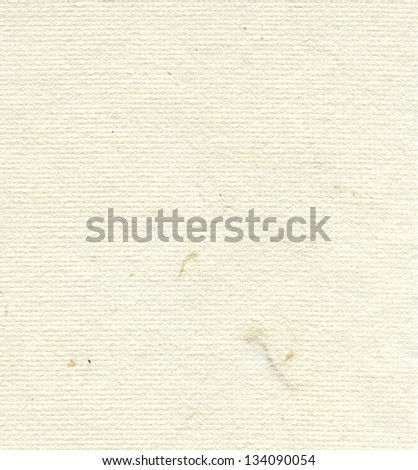 High resolution scan of creamy white rice paper. - stock photo