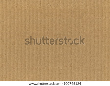 high resolution seamless cardboard texture - stock photo