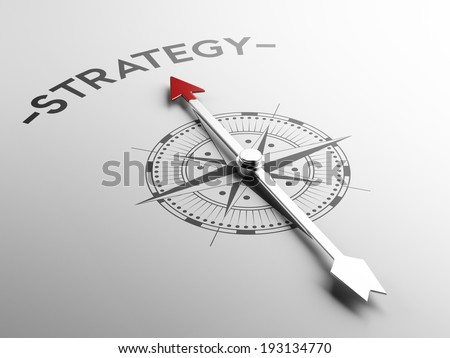 High Resolution Strategy Concept - stock photo