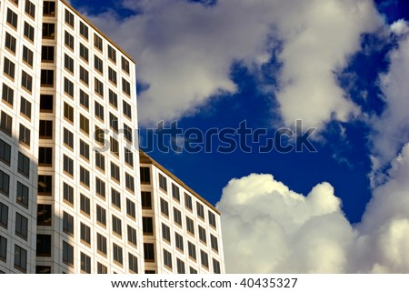 High-Rise in the Clouds