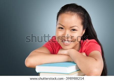 High School Student. - stock photo