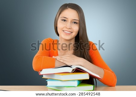 High School Student, University, Student. - stock photo