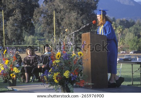 Graduation Speech Stock Images, Royalty-Free Images & Vectors