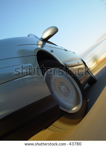 high speed car