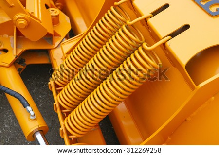 high strength metal industrial springs