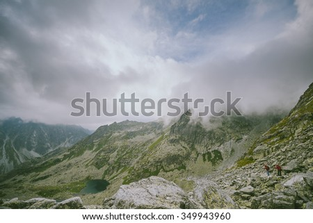 High Tatras Mountains, summer scene, Slovakia