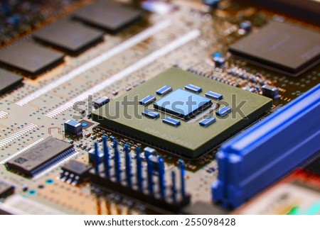 High Tech Circuit Board
