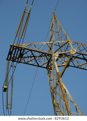 High Voltage Pylon Detail