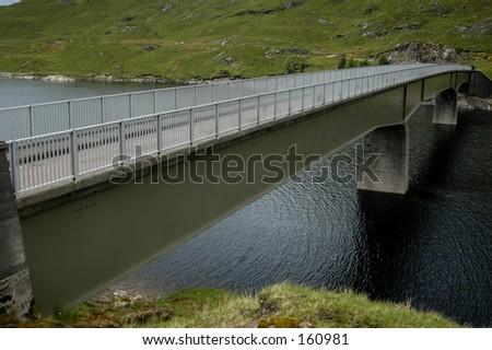 Highland Bridge - stock photo