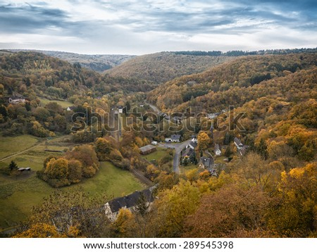 Highlands in Hesse - stock photo