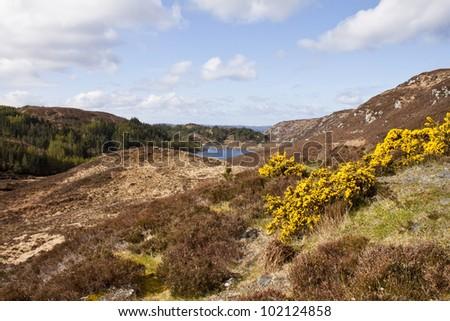 Highlands of Scotland - stock photo