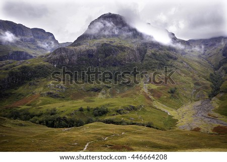 Highlands, Scotland. - stock photo