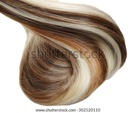 highlight hair texture abstract background