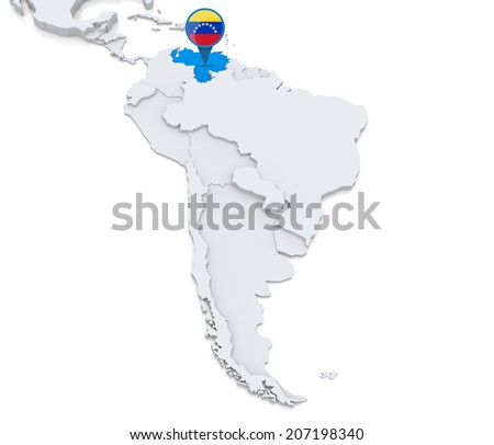 Venezuela Map Stock Images RoyaltyFree Images Vectors - Map of venezuela south america