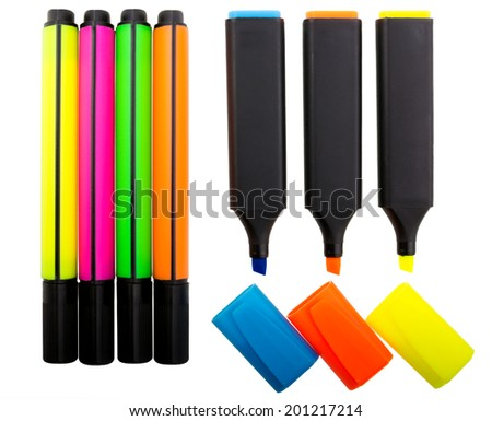 Highlighters - stock photo