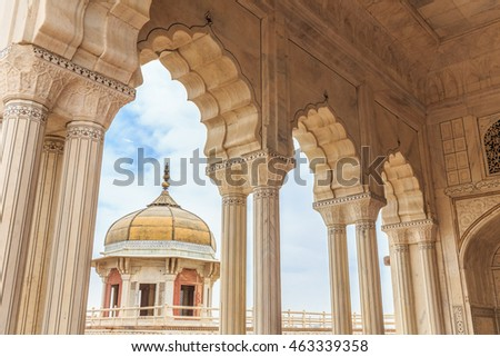 Cusp stock images royalty free images vectors for Diwan e khas agra fort