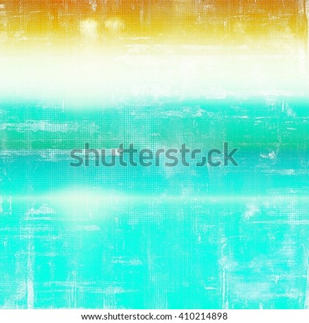 Highly detailed grunge background or scratched vintage texture. With different color patterns: yellow (beige); green; blue; cyan; white - stock photo