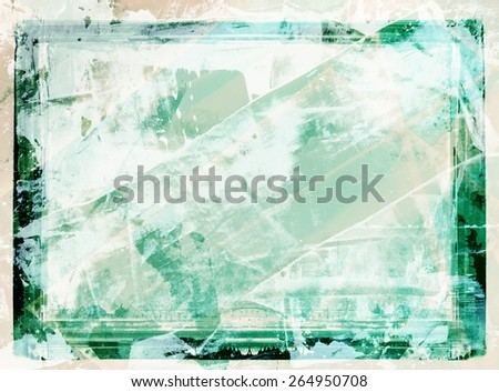 Highly detailed grunge frame  with space for your text or image. Great grunge layer,background or texture for your projects. - stock photo