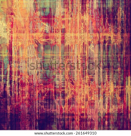 Highly detailed grunge texture or background. With different color patterns: yellow (beige); purple (violet); red (orange); green - stock photo