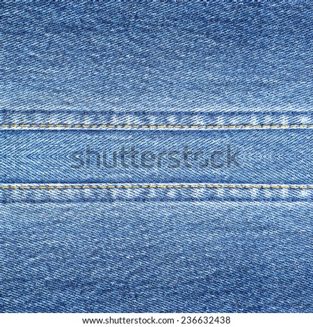 Highly resolution detailed texture of abstract soft color blue denim background - stock photo