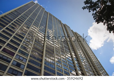 Highrise Apartments - stock photo