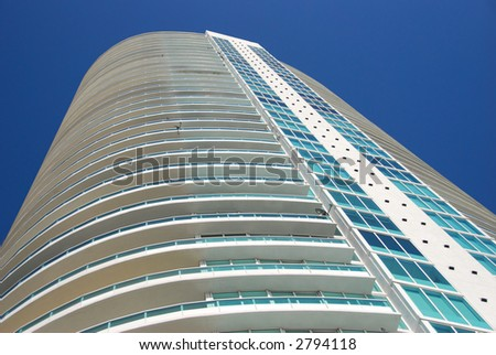 Highrise residential tower