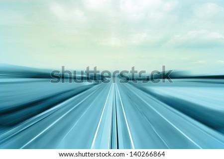 Highway - stock photo