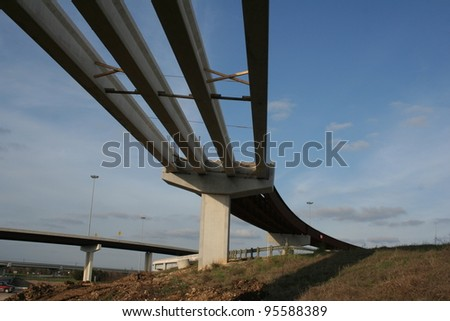 highway bridge under construction