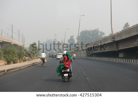 Highway in Delhi