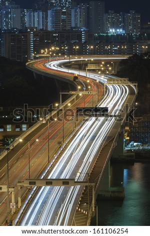 Highway in Hong Kong