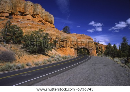 Highway in southern Utah