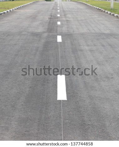 highway on street at day time - stock photo