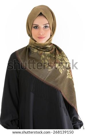 Hijab Model - stock photo