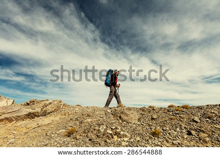 Hike - stock photo