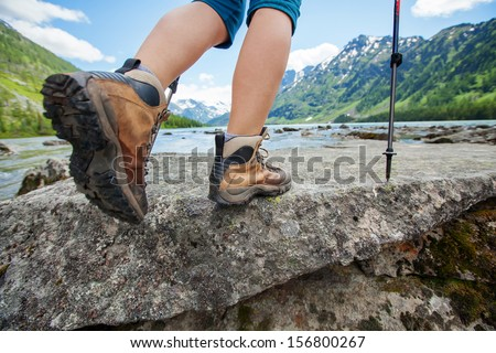 Hiking Boots Stock Images, Royalty-Free Images & Vectors ...