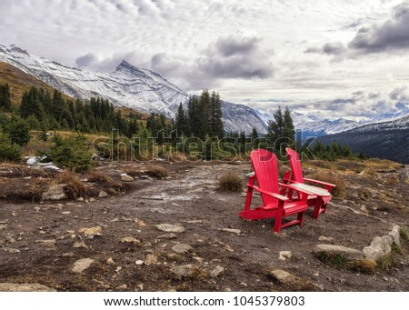hiking wilcox pass jasper national park stock photo royalty free