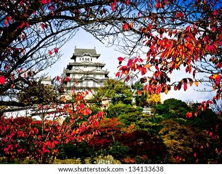 Himeji Castle, Japan - stock photo