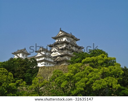 Himeji Castle, Japan - stock photo