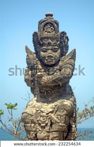 Hindu temple, Tanah Lot, Bali, Indonesia - stock photo