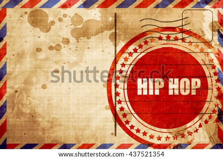 hip hop music - stock photo