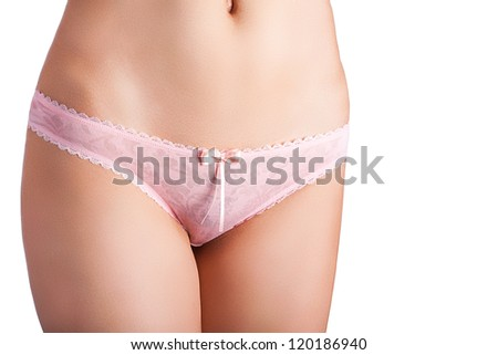 Hips legs abdomen beauty weight loss control concept isolated against white