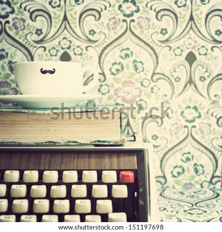 Hipster and Retro Still Life  - stock photo