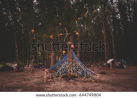 hipster tent & Stock Images Royalty-Free Images u0026 Vectors | Shutterstock