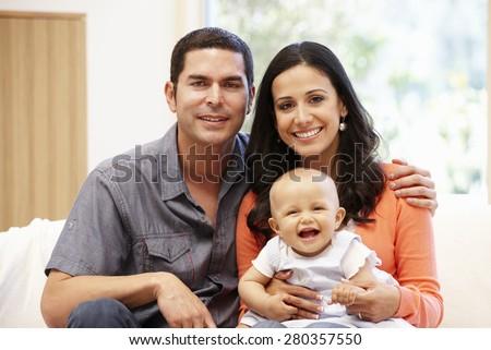 Hispanic Couple Names Hispanic Couple at Home With