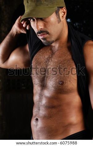 Hispanic male - body shot - stock photo