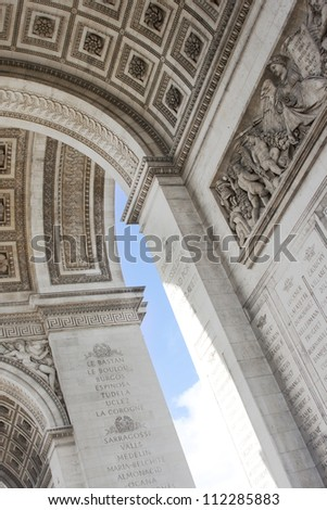 Historic Arc de Triomphe, Paris